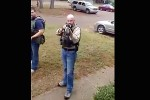 Video Shows U.S. Marshal Pointing Gun at Bystander: Was it Warranted?