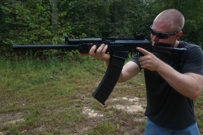 Recoil from the Vepr is easy to handle, thanks in part to the gas system.