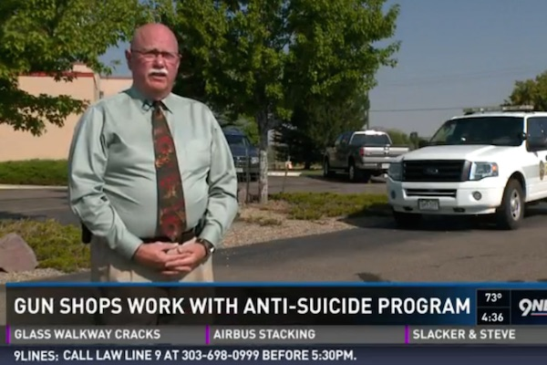 Colorado Gun Stores Participate in Anti-Suicide Program