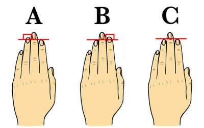 Subtle differences in finger shape become very important.