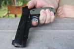 1911 Trigger Placement