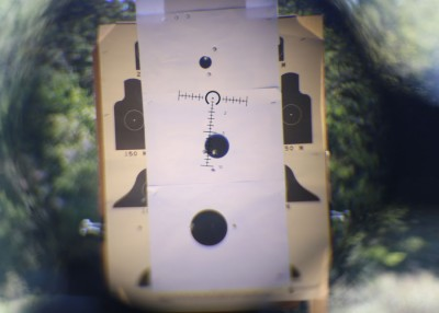 There's nothing to say that the .223 can't be effective at distance, but it is no match for the .308.