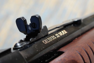 Rear sights.