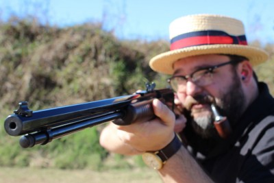 Henry Rifles go well with pipes and fat guys in boater hats.