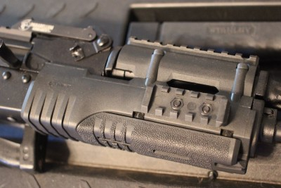 This MFT hand guard is functional, but it is too compact for my taste.
