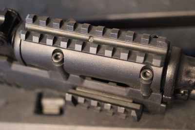 The benefit is clear. My old rail was plastic, which is much less stable than the aluminum.
