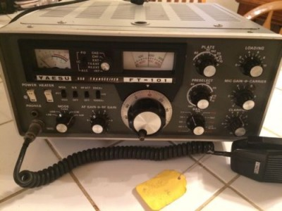 If you want more transmit power, I am planning a communications article on the Yaesu FT-101 and Kenwood TS-520 soon, but you can troll for 100% solid state Hams as well in the $300 range. Check eham.net for radio reviews before you buy.