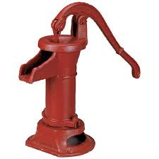 If you have a well with a head above 25 feet, this cheap pitcher pump will give you water when your electric is out. There are other solutions for well water here you should also check out.