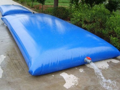 Potable water pillow tanks are an absolute must for areas that have water restrictions, or like Colorado where it is illegal to collect rainwater from your own property. These will go through your door and your neighbors won't see a big tank being delivered.