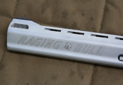 I was never a fan of my revolver saying Raging Bull across the barrel, but 20 years later, eh.