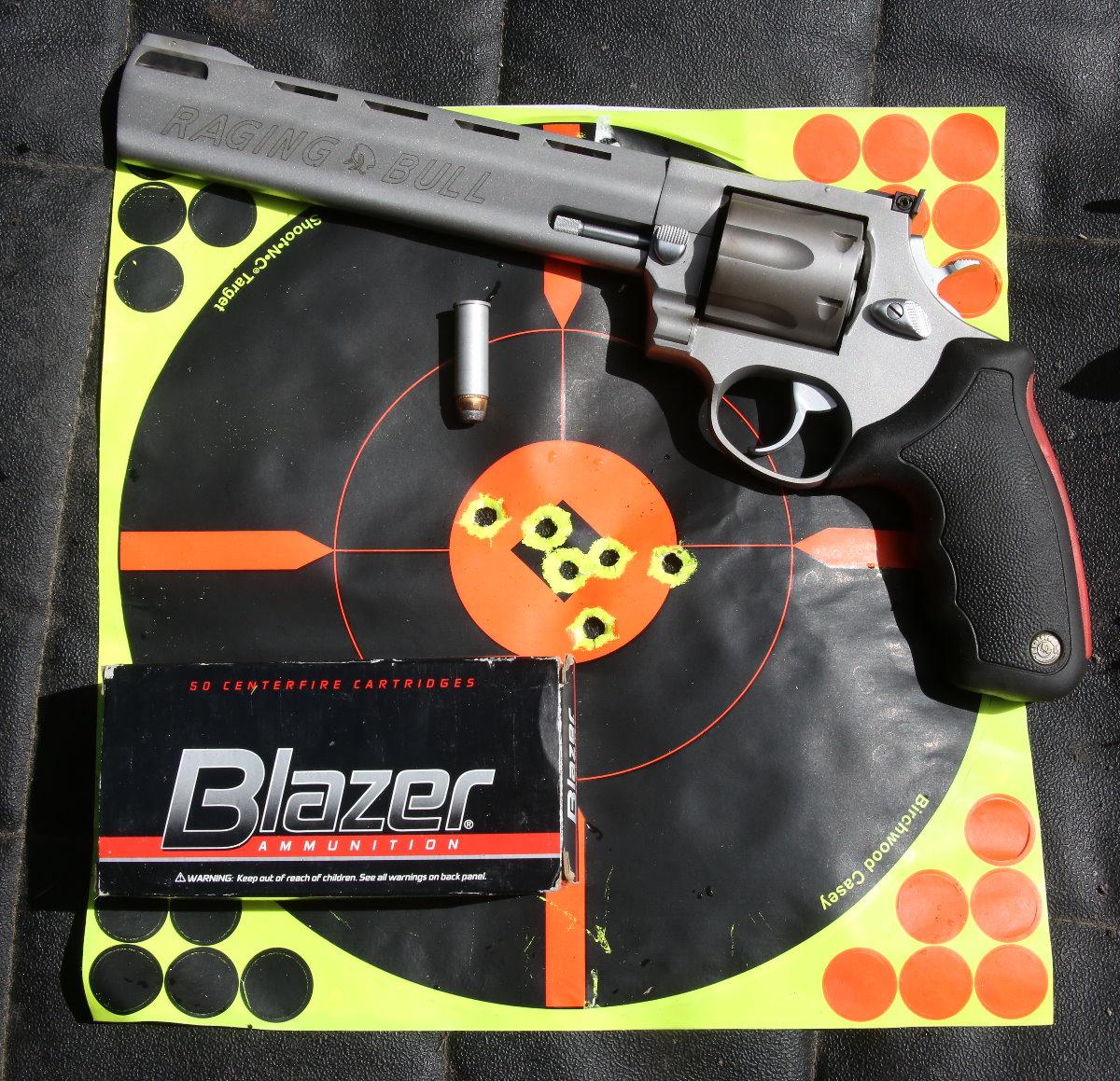Taurus Raging Bull  44 Mag Revolver - Return of the Classic Model