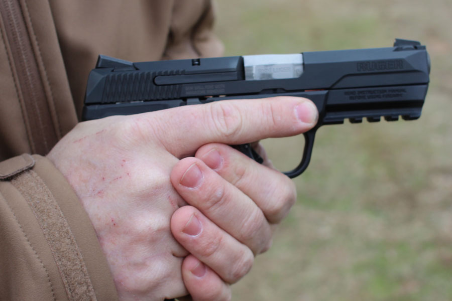 how to hold a handgun properly youtube