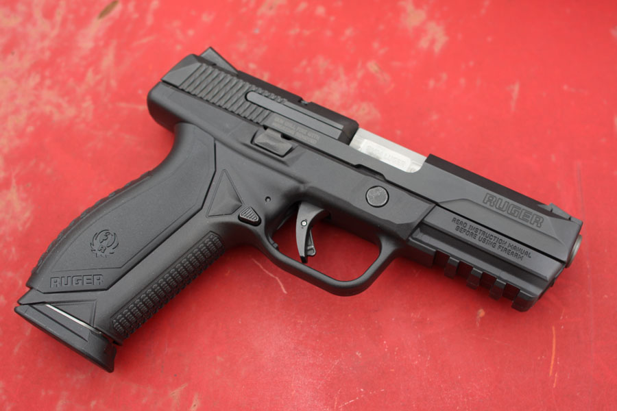 The Ruger American Pistol in 9mm.
