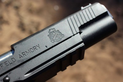 It's got a rail on it. First pistol in the RO line to come with one.