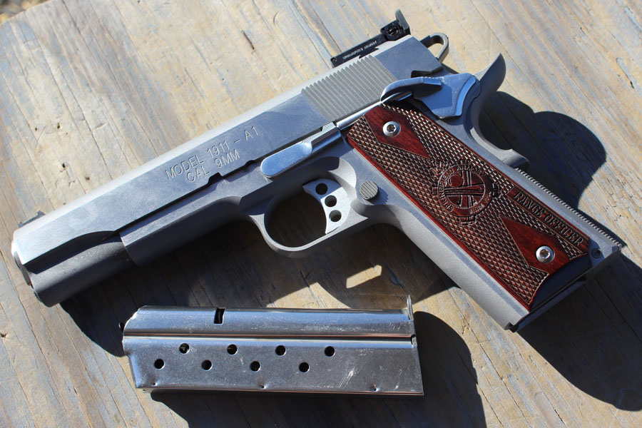 The new RO 9mm in Stainless Steel.