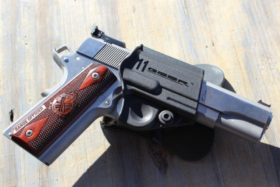 These allow you to take the gun to the range the same day without having to wait for a holster.