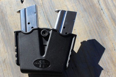 Like other Springfields, the RO comes with a mag holder and holster.