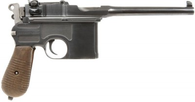 The C96 Mauser, a firearm fit for a princess.