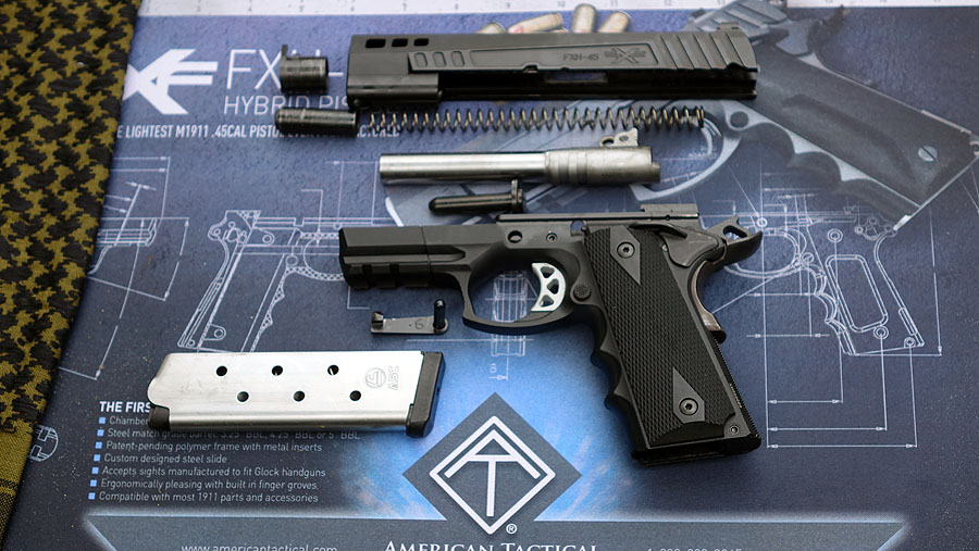 American Tactical's Polymer-Framed 1911 Pistol, the FXH-45
