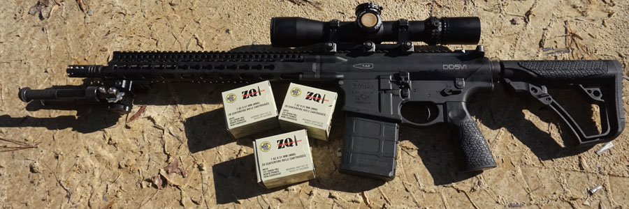 ZQI's .308 is an affordable option, but there are countless options for those who want to match a grain weight and powder load for even greater accuracy.