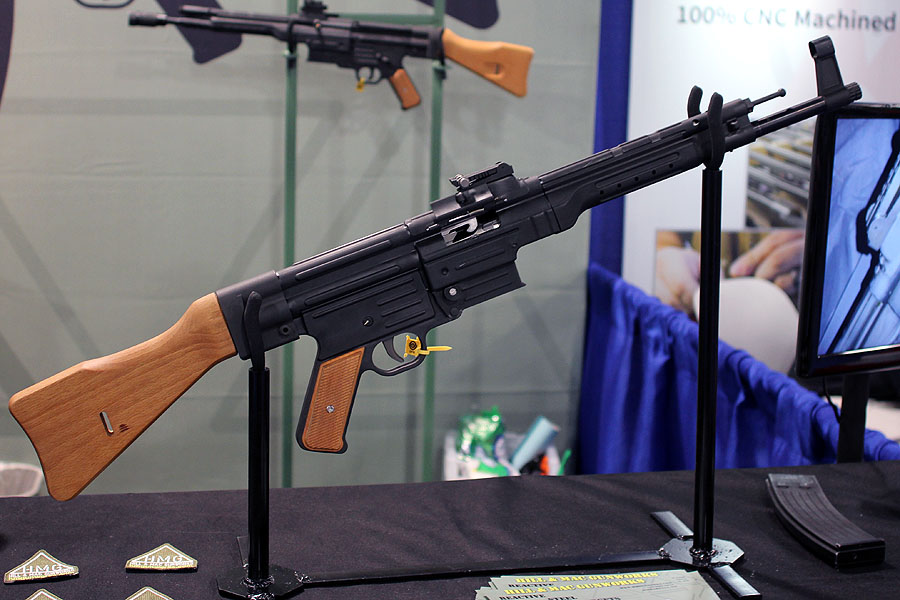 For such a rough design, the whole rifle has the same unique appeal as the AK.