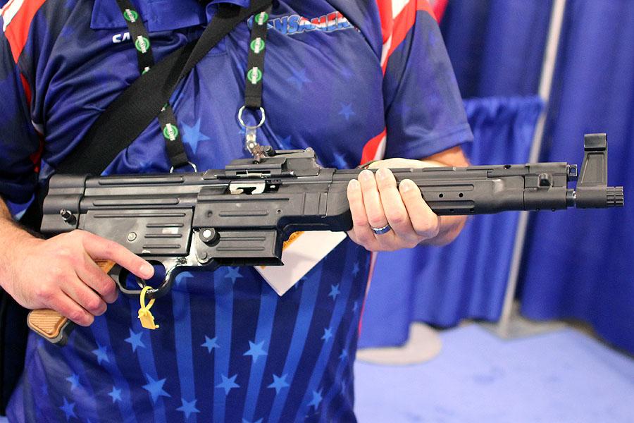 Pistol version for those DIY SBR aficionados.