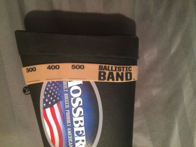The Ballistic Band.  Simple, useful, cheap.  What more could you ask for?