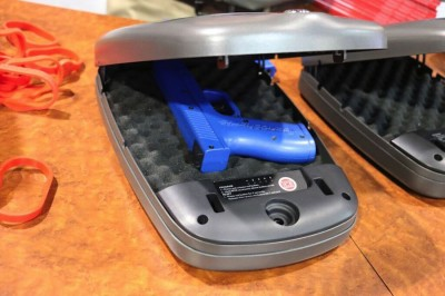 You can fit most handguns in these Hornady's safes.
