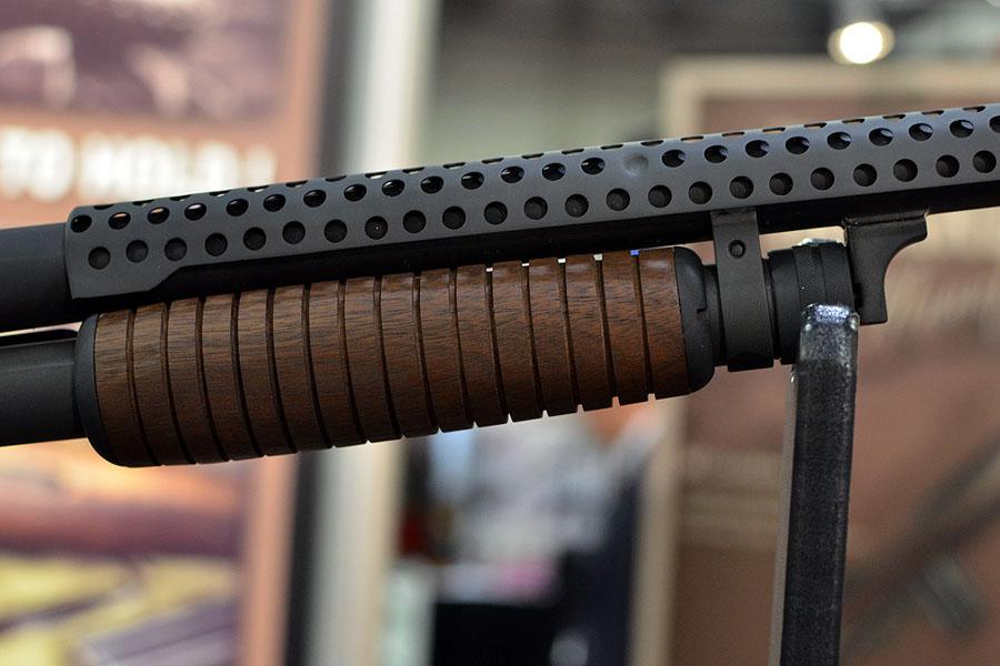 Ithaca 37 Trench Shotgun w/Bayonet From Inland + Threaded M1