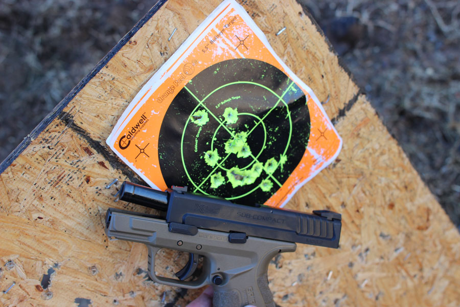 SPRINGFIELD New SUBCOMPACTS AND TACTICAL MOD 2S - On the