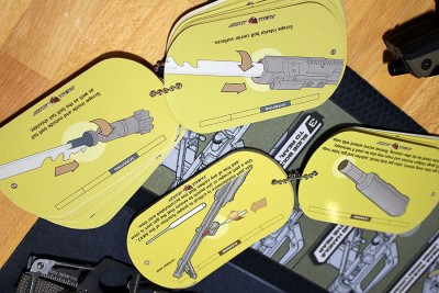 These gun-specific field guides travel easily and are good to have on hand.