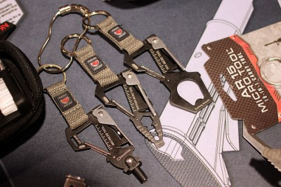 Key-chain tools for the AR-15, AK, and 1911.