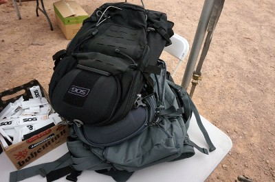 New tactical backpacks from SOG.