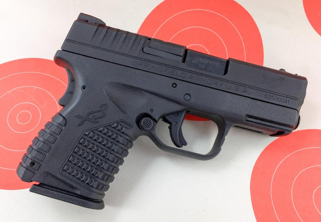 I find the XD-S to be the perfect size for easy concealed carry.
