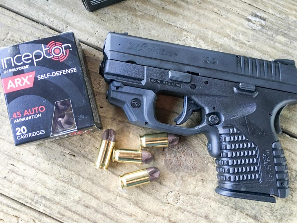The Polycase Inceptor ARX ammo was the gentlest of the bunch when it came to recoil.