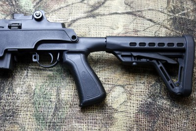 Get a grip on the new SOCOM model. And adjust the length of pull, too.