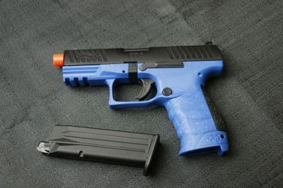 Meet the Walther PPQ GBB LE Blue.
