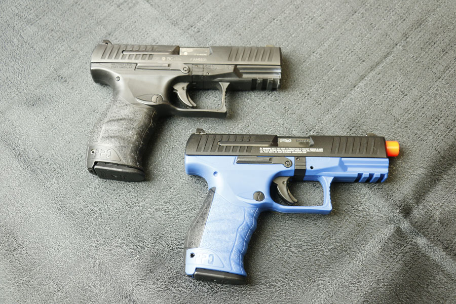Sometimes you want to train with live-fire, but less-than-lethal force. Walther and Umarex are developing excellent options.