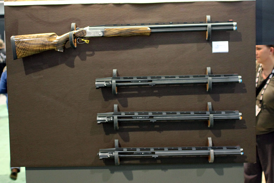 One gun can accommodate 4 different barrel systems.