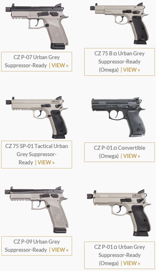 CZ's 2016 Line-Up is Live! New pistols and a CZ-805 BREN rifle
