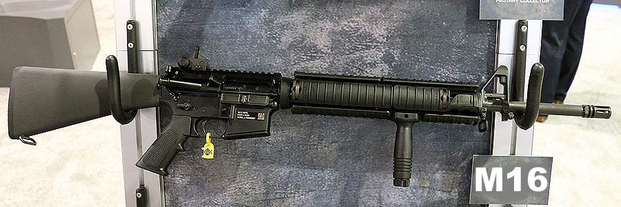 FN Civilian M249 SAW - FNH - SHOT Show 2016 - GunsAmerica Digest
