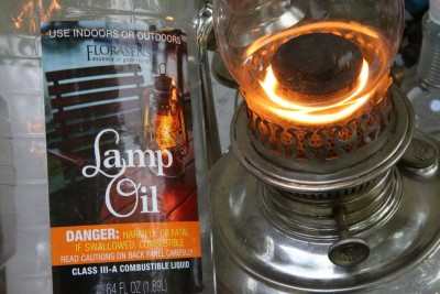 """I run my center draft lamps with regular diesel fuel. This """"lamp oil"""" from Walmart is probably a slightly finer distillate, because it is clear and not yellow. But I have found no advantage after burning for dozens of hours."""