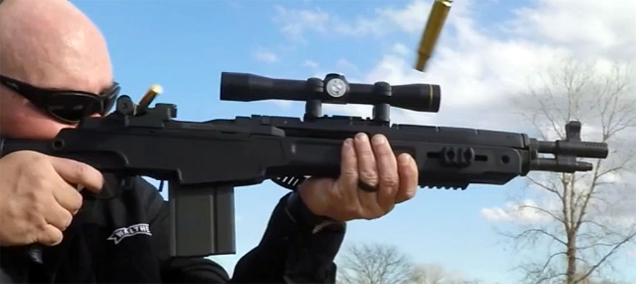 Scout scopes are great for CQB, as they don't bite.