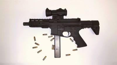A photo of the stolen firearm.  (Photo: Precision Firearms)