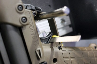 BoomDock 2 will allow the trigger block to angle for odd designs like the KSG.