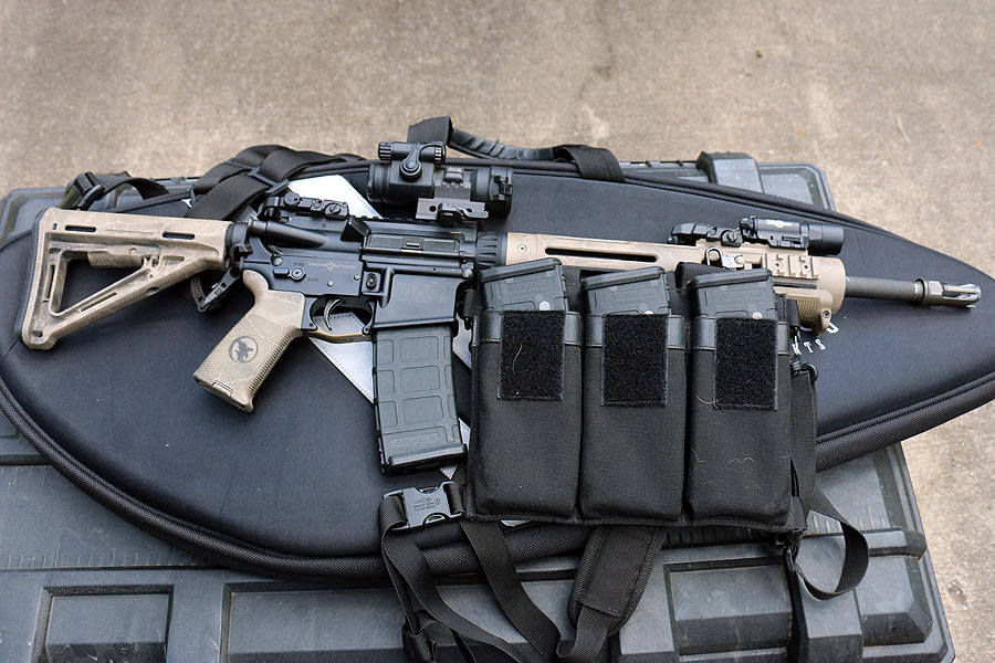 A good rifle and plenty of ammo, but keep them secured in a way that isn't obvious.