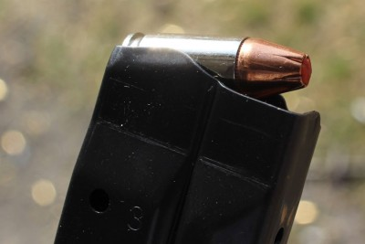 The Hornady Critical Duty rounds performed well in the gun.
