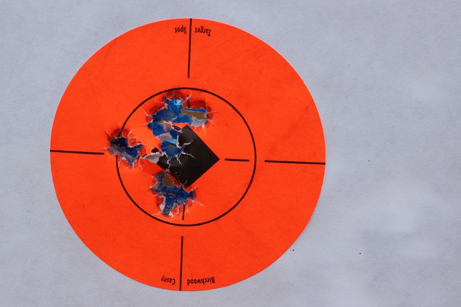 A full mag form 15 yards.