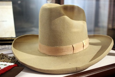 Buffalo Bill's hat!