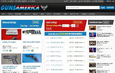 This is close to what the homepage will look like with the new Local listings. All local sales with be competely free on GunsAmerica. No posting fee. No aftersale fee. Ads will last 30 days, and you can renew them twice. You can run five per month, and if you decide to go national, there will still be no fee if a local buyer happens to buy it.  Ads will be listed by date, much like they are on a Facebook board, so even if local dealers load up the whole store using our bulk upload utility, new private ads will be on top as they come in, yet you'll be able to search local, regardless of the age of the ad. It's a cool system and we think everyone is going to love it.